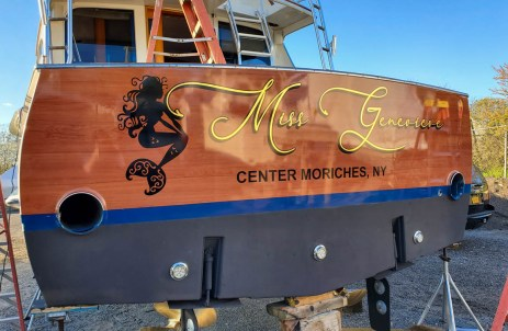 boat lettering center moriches