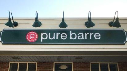 exterior signage- Pure Barre