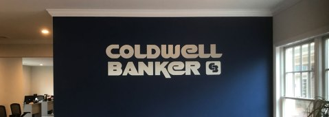 Coldwell Banker dimensional letters signage