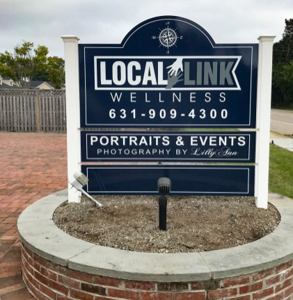 Local Link Wellness sign