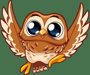 Elf Owl Easter Bunny Helper