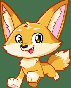 Fennec Fox Easter Bunny Helper