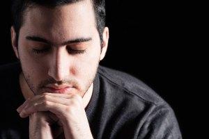 Hispanic Man Praying