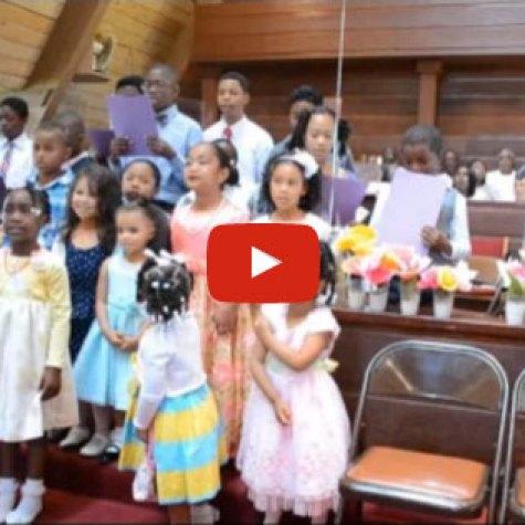 Children's Easter Choir - 2014
