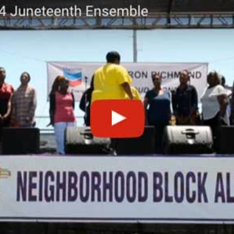 Easter Hill 2014 Juneteenth Ensemble