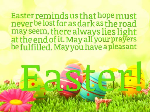 Happy Easter Images With Quotes