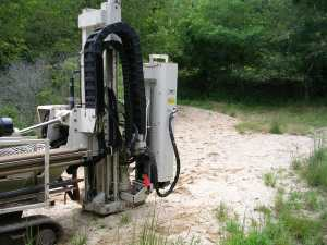 geoprobe drilling subsurface testing investigation