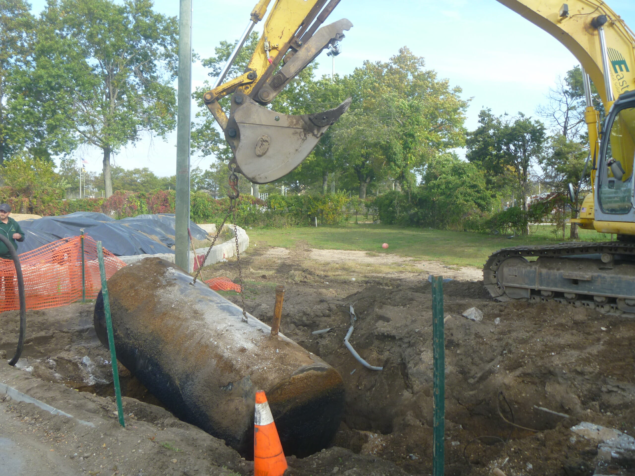 Oil Tank Removal, Abandonment, Installations & Testing Services