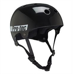 Protec Black Glossy Helmet