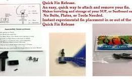 QFR Quik-Release Fin Screw-4740