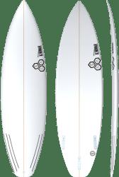 Channel Islands Black & White Surfboard