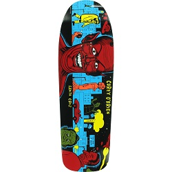 Santa Cruz Cory O'Brien Mutant City 9.75x31.8 Deck