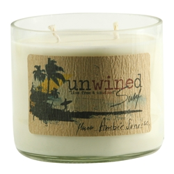 Unwined Amber 16oz Candle - Eastern Lines Surf Shop