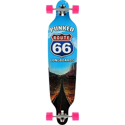 "Punked The Run 41.25"" Skateboard"