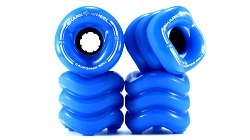 Shark Skate Wheel 70mm 78a Blue