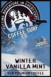 Coffee Surf Vanilla Mint