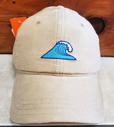 Eastern Lines Camel Cord Hat