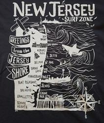 EL Jersey Shore Tee