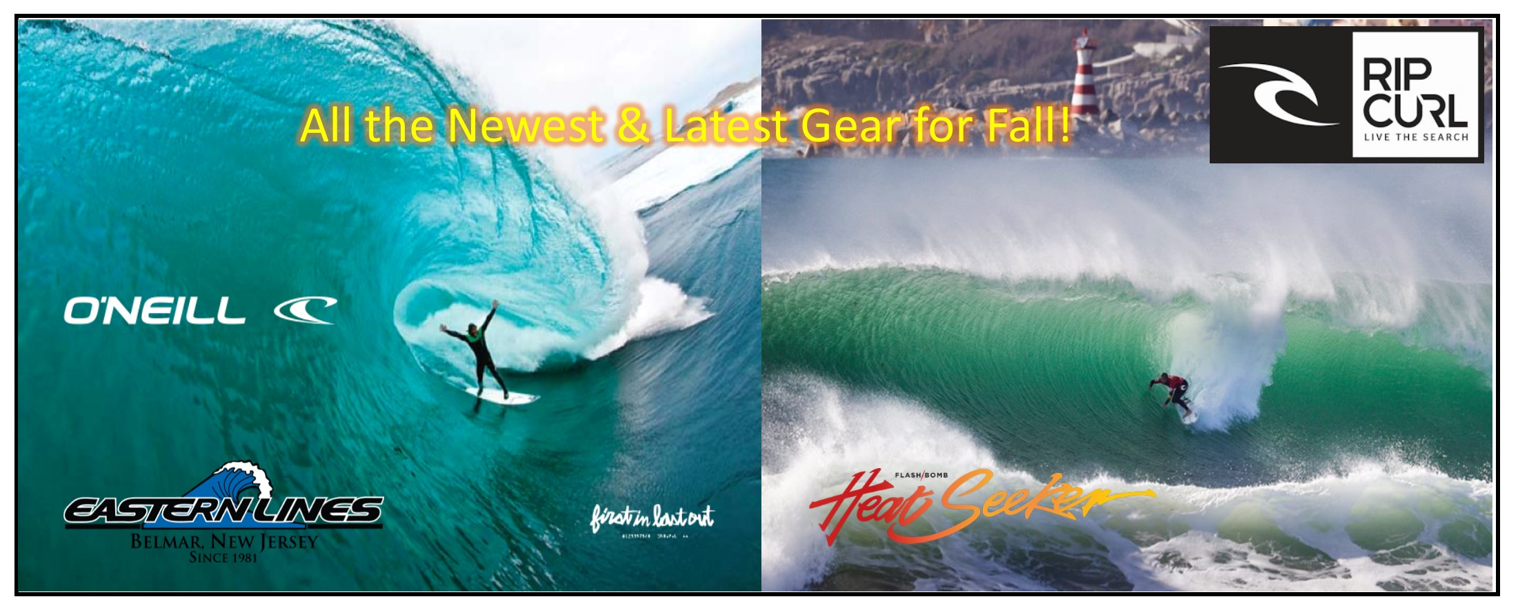 2020 Fall Wetsuits