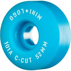 Mini Logo C Cut 52mm 101A Blu-250