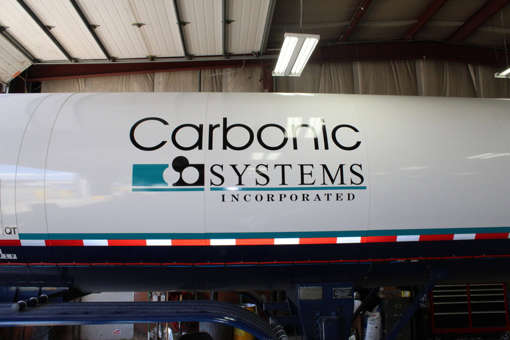 carbonic systems, tanker, wrap, vehicle 8