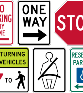 regulatory rigid signs