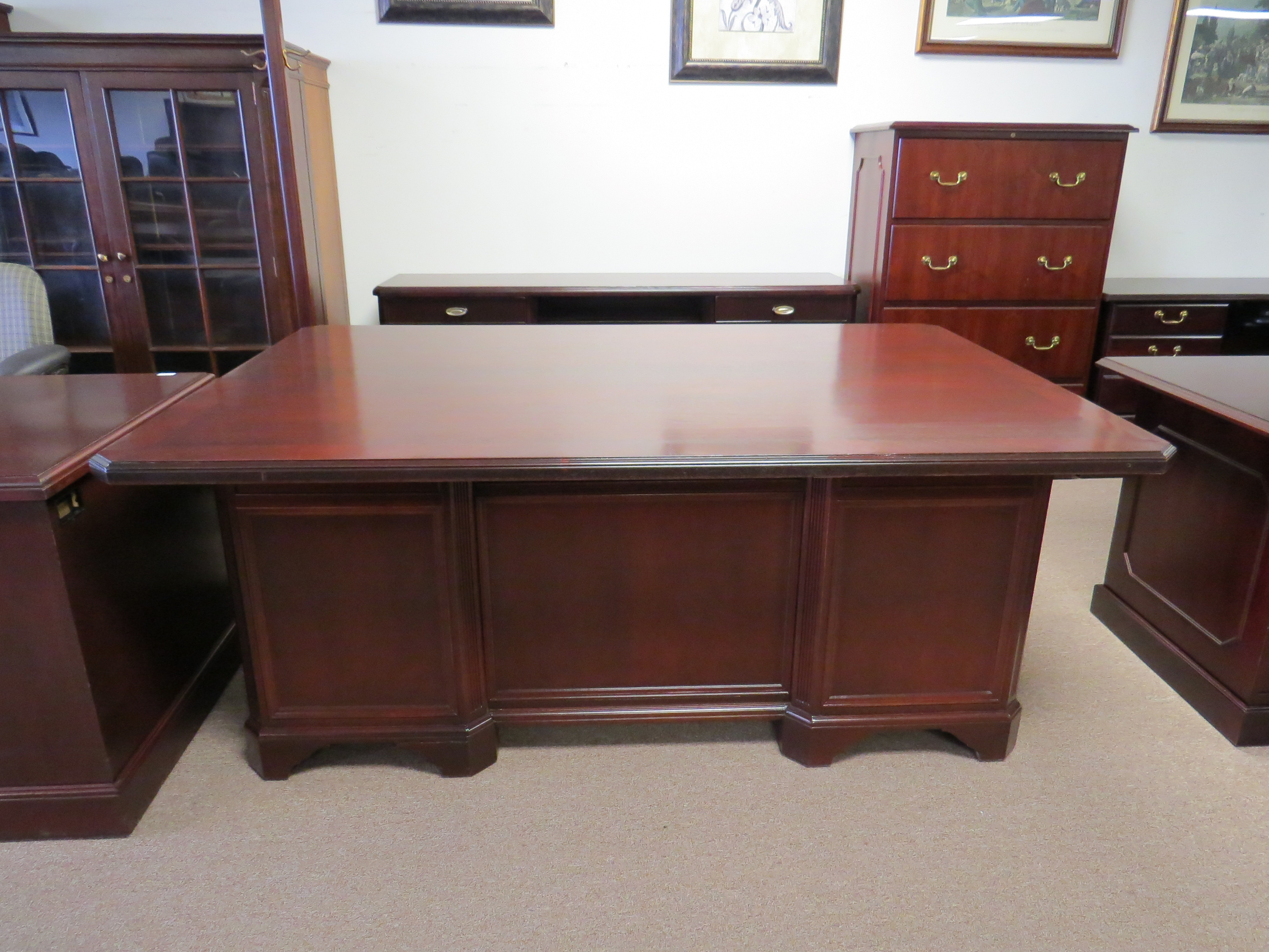 Lycoming Executive Desk By Rishel Furniture Eastern