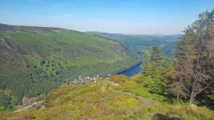 Our Hiker's Tour of Ireland included a spectacular hike around Glendalough after a visit to the Monastic City founded by St Kevin.