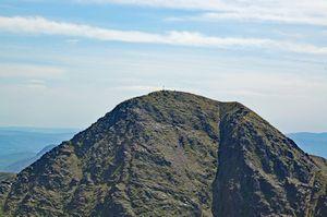Carrauntoohil, the highest peak in Ireland