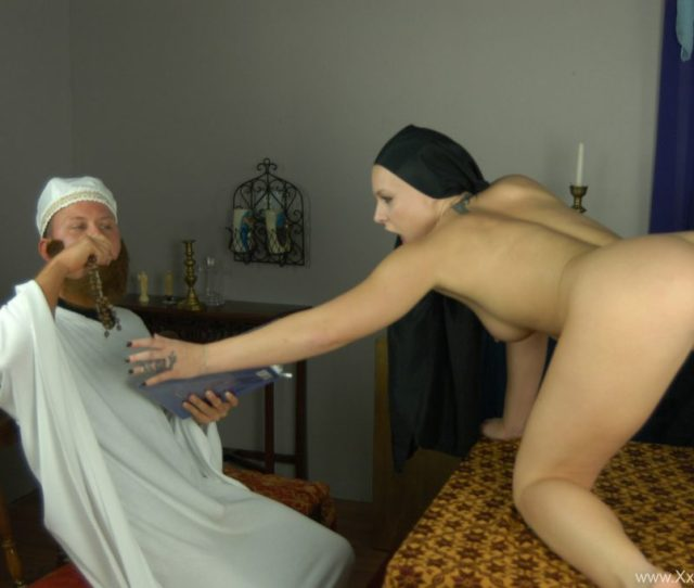 Religious Leaders Try To Banish Demon Out Of Sexy Girl