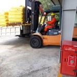 Công Ty TNHH Hải Đông bàn giao 27 tấn Xỉ than – Coal Slag cho NAM CÔN SƠN PIPE LINE