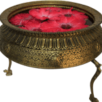Decorative Flower Bowl