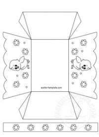 Easter template happy easter greeting cards with paper cut easter easter template paper easter basket template u2013 merry christmas and happy new year 2018 pronofoot35fo Image collections