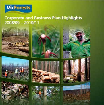 Corporate and Business Plan Highlights cover
