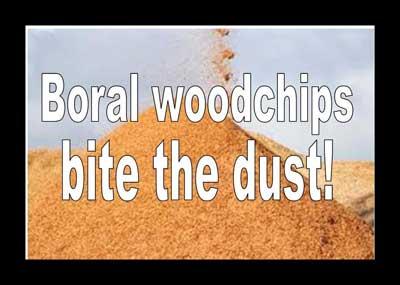 Boral bites the dust