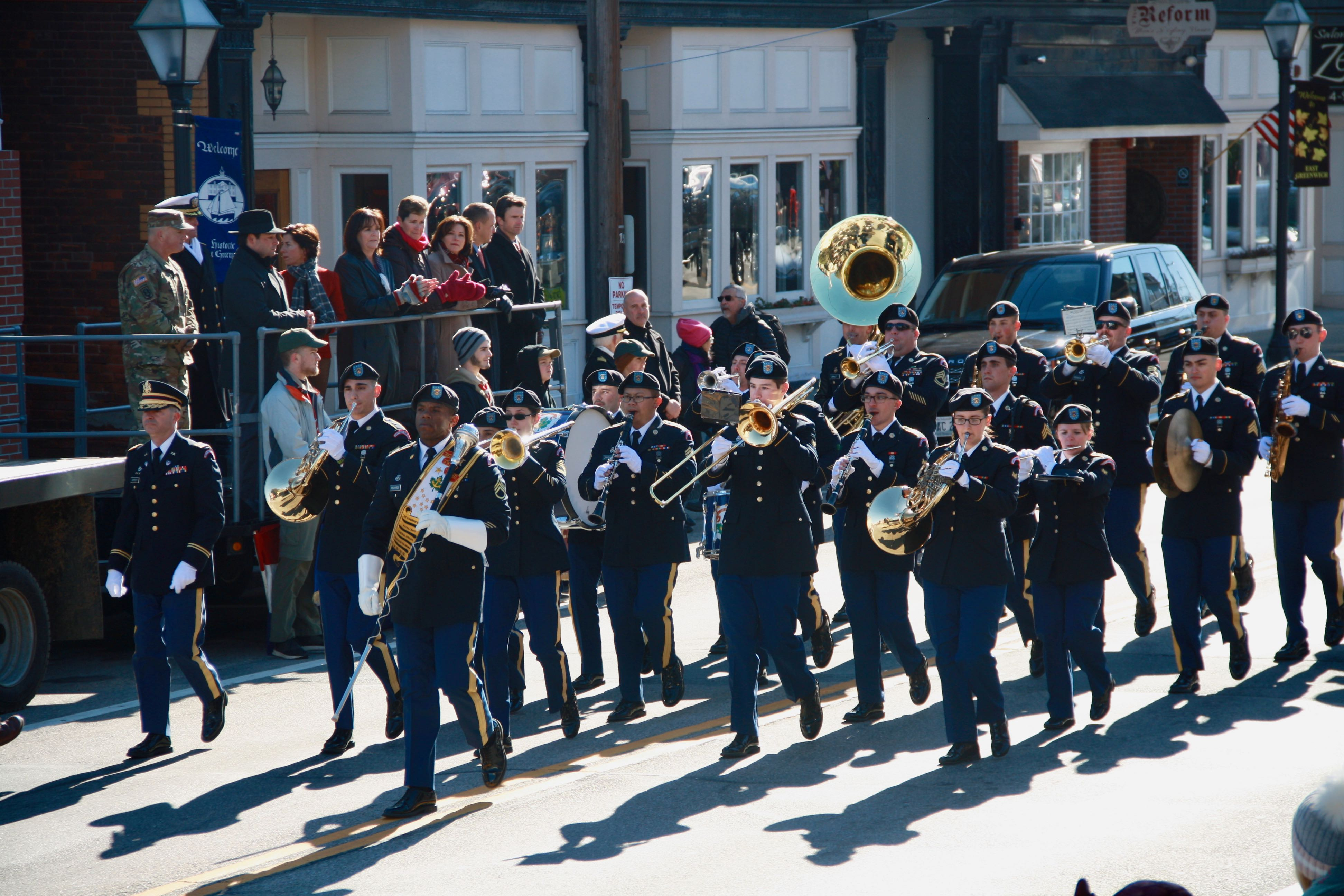 """The Governor's Own"" 88th Army Band from the RI National Guard."