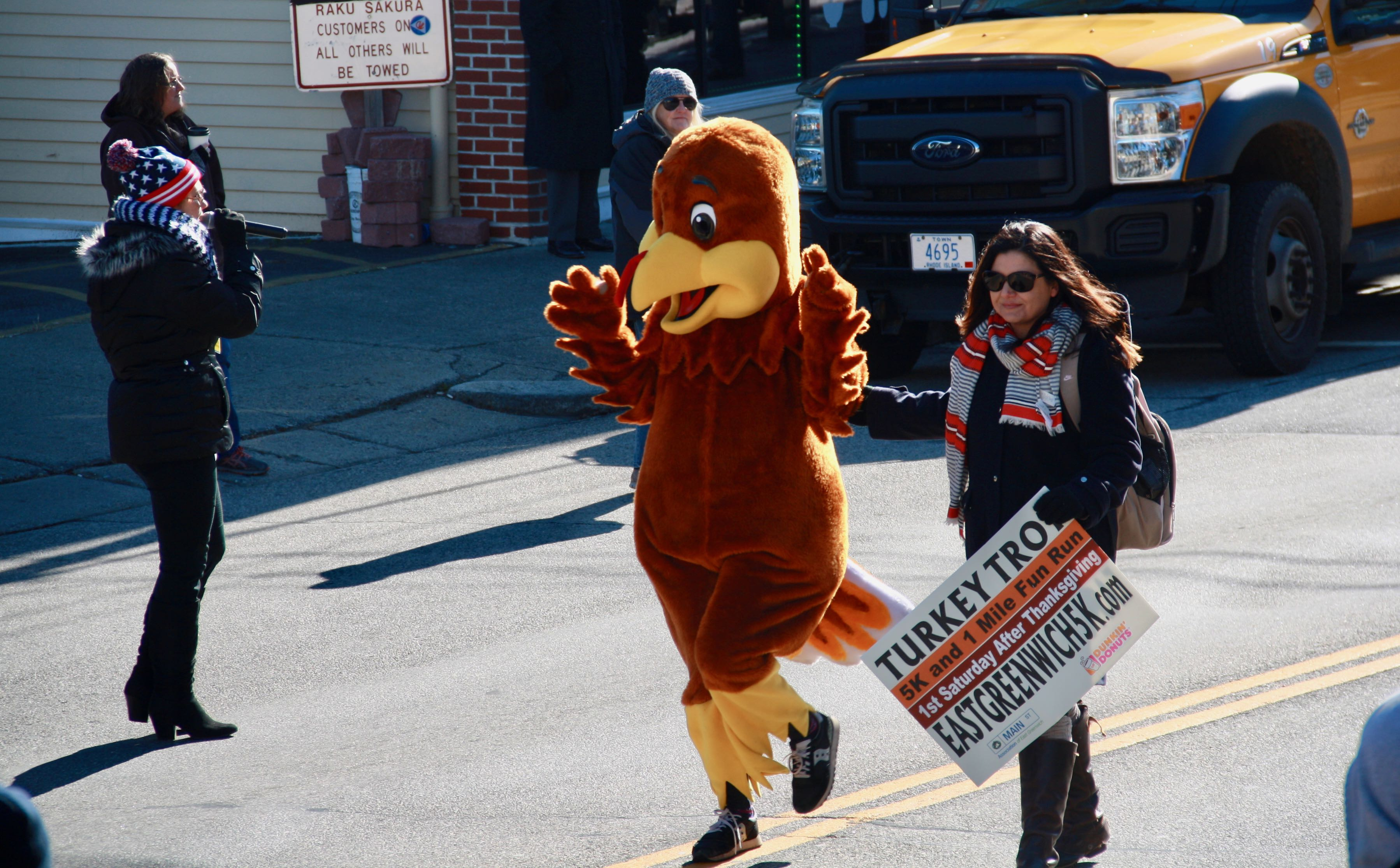 The Main Street Association's Turkey Trot is just a couple of weeks away – Saturday, Nov. 25. Sign up at eastgreenwich5k.com.