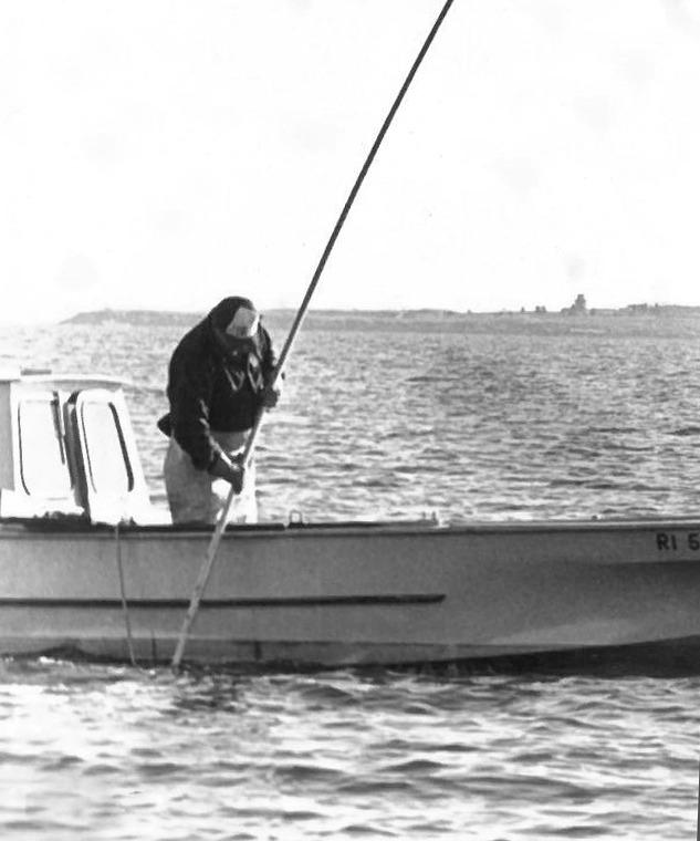 quahogger, greenwich bay
