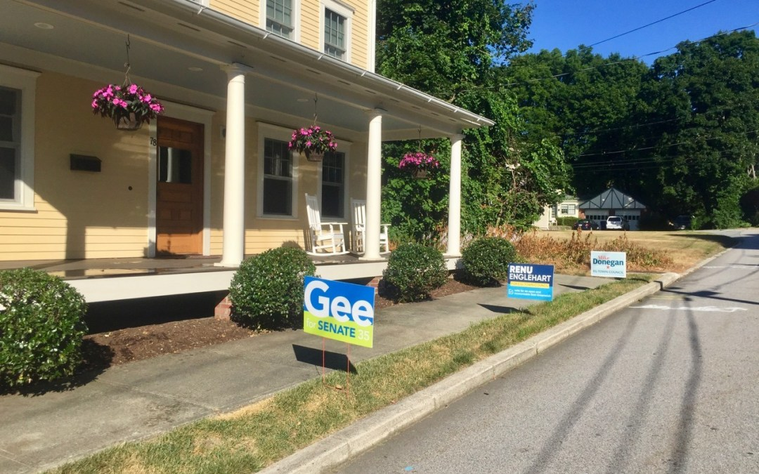 Political Signs Appear …  and Disappear