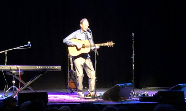 Livingston Taylor Charms The Odeum