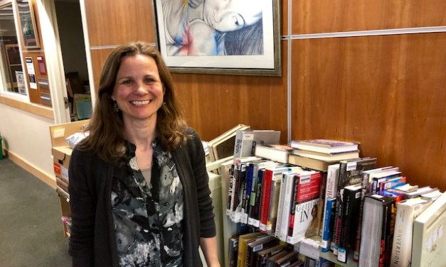 Steever Named Top Librarian of Year