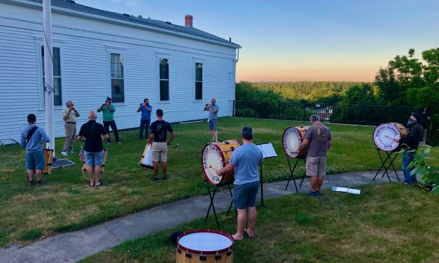 Parades or No, Fife & Drum Corps Plays On