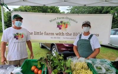 Events: Farmers Market, Final 'Take It Outside' Sunday, House History