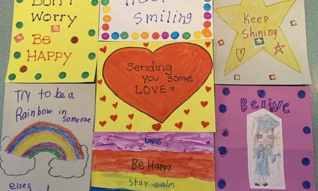 Elementary Students Share Some Love