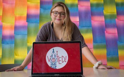 EGHS Graduate Designs Philadelphia's 'I Voted' Sticker