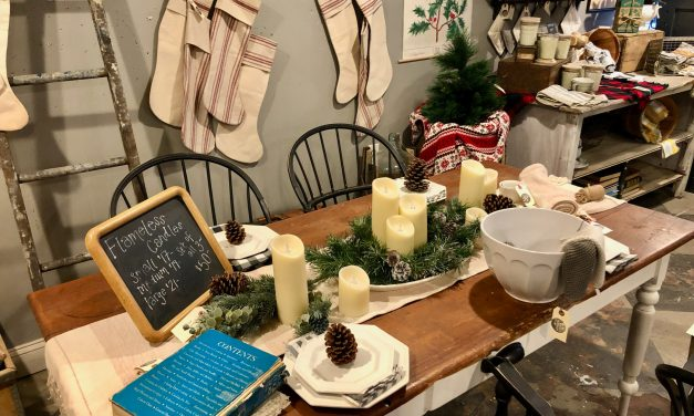 Local Shopping Ideas: Wreaths, Glass & Gifts, Old & New