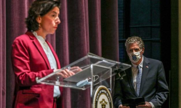 Raimondo Talks Transition, COVID