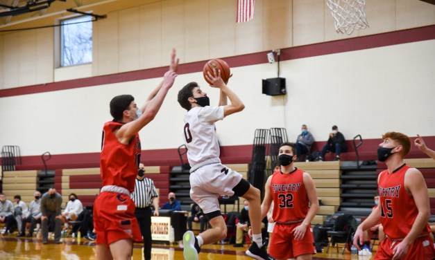 Boys Hoops: Regular Season Ends w/Win Over Coventry, 58-48