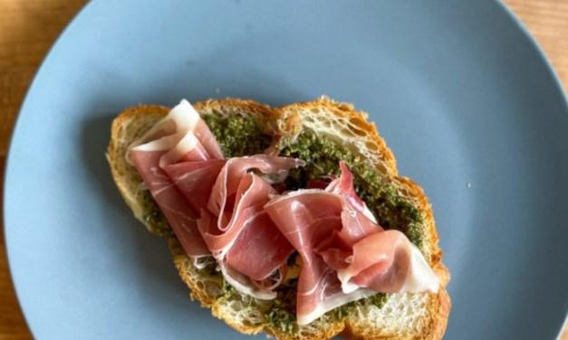 EG Eats: Vegetarian Pesto from KNEAD