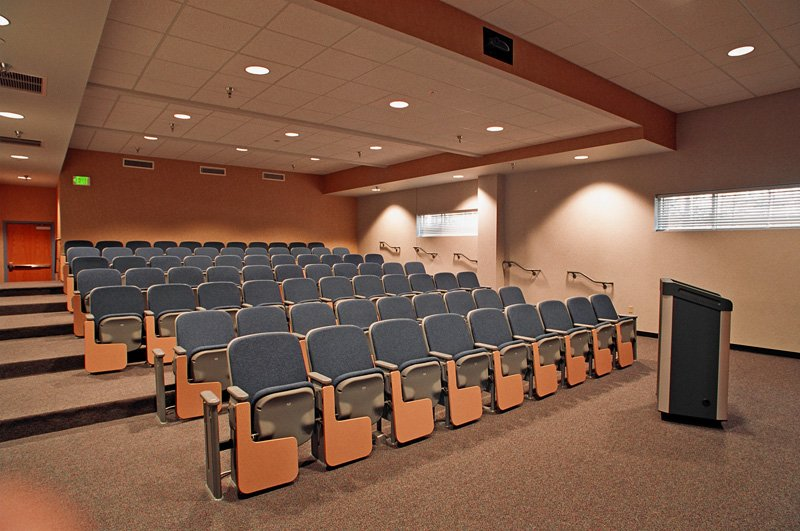 Remington College Auditorium Seating in Classroom